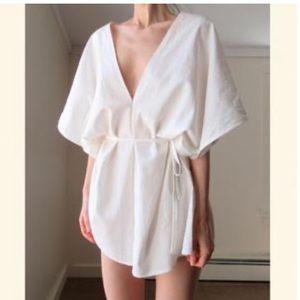 Eco-friendly NEW Organic Hemp/Cotton Kimono